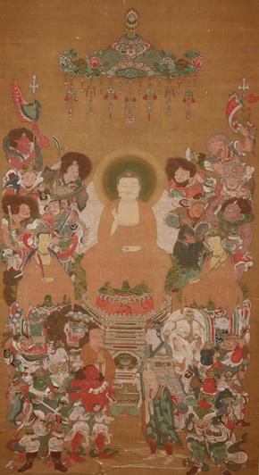 釈迦十六善神像
