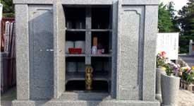 永代供養収骨墓内部