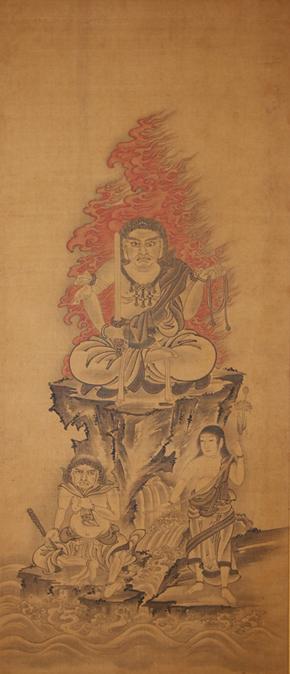 不動明王二童子像(2)